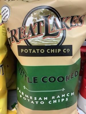 Great Lakes Potato Chip Co - Parmesan Ranch 8 Oz.