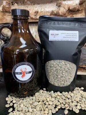 DEER CAMP Coffee Craft Brewer Blend 1 lb Green Bean