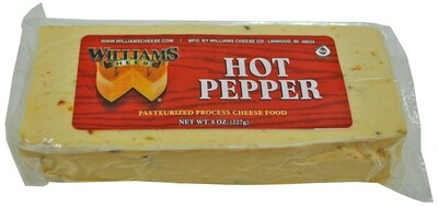 Williams Cheese - Hot Pepper 8 oz.