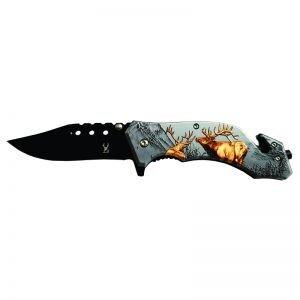 Red Elk Folding Knife