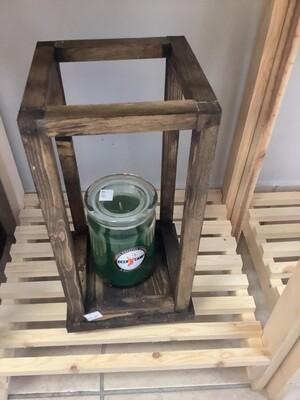 DEER CAMP Natural Décor Lantern