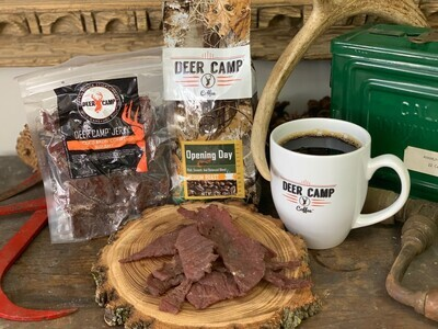 DEER CAMP JERKY - Beef - Cold Brew Opening Day Coffee