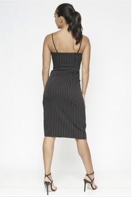 Black Fav Striped Dress