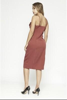 Sienna Red Dress