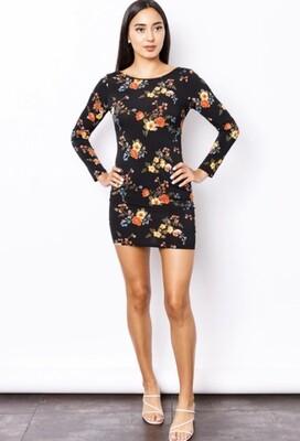 Black,Flower Madeline & Monroe,Dress