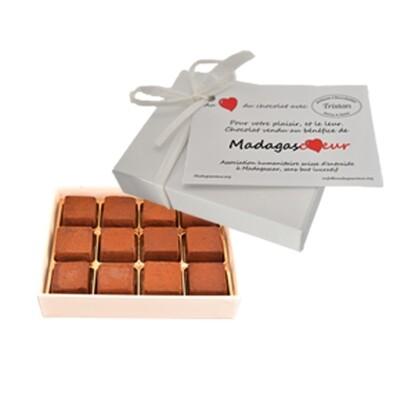 Pavés au chocolat noir (12 pièces)