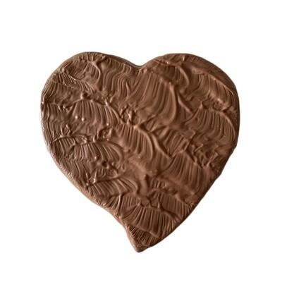Coeur chocolat au lait (200g)