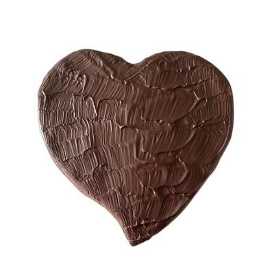 Coeur chocolat noir (200g)