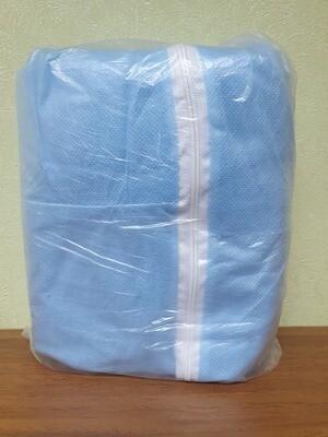 Комбинезон защитный (голубой)
