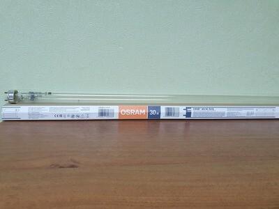 Лампа ультрафиолетовая Osram G30T8, 30Вт