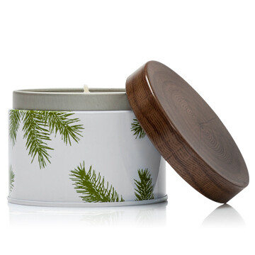 Frasier Fir Candle Tin- Lg