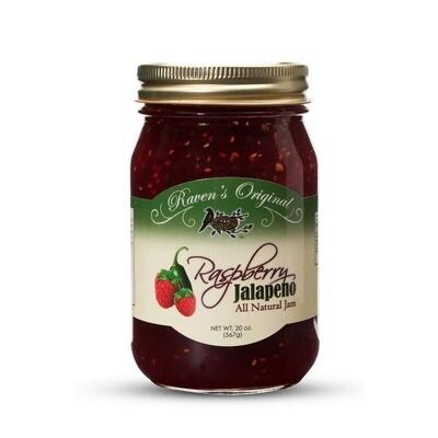 Raspberry Jalapeno Jam