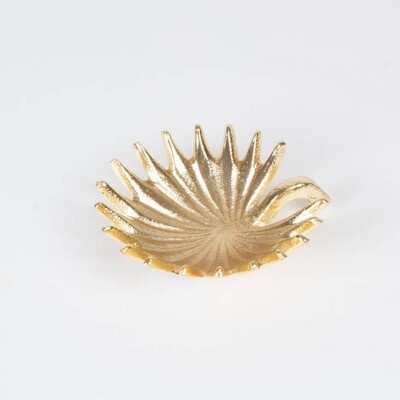Leaf Trinket Dish- Gold