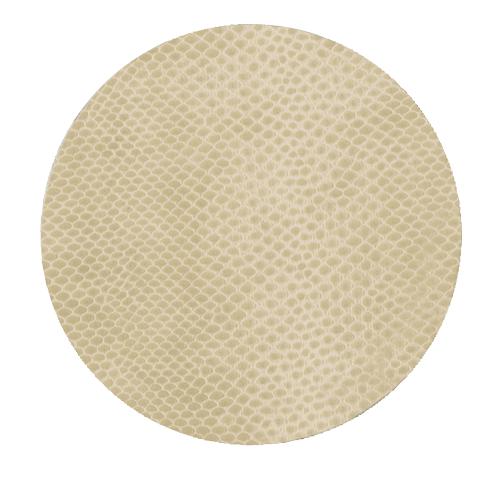 Snakeskin Coasters S/8- Ivory
