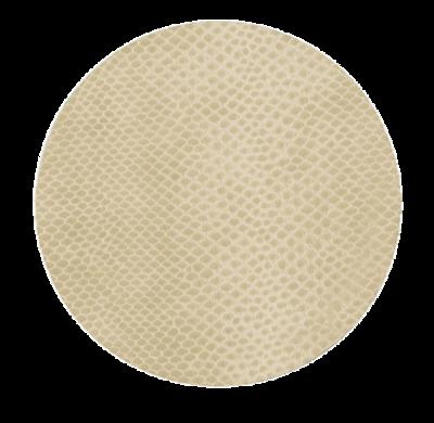 Snakeskin Coasters- Ivory