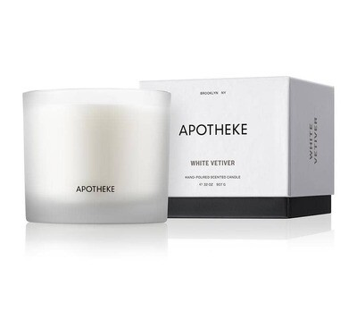 White Vetiver 3 Wick