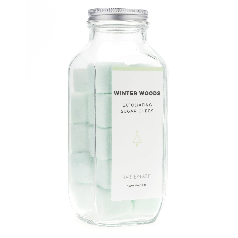 Winter Woods Sugar Cubes