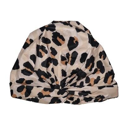 Shower Cap- Leopard