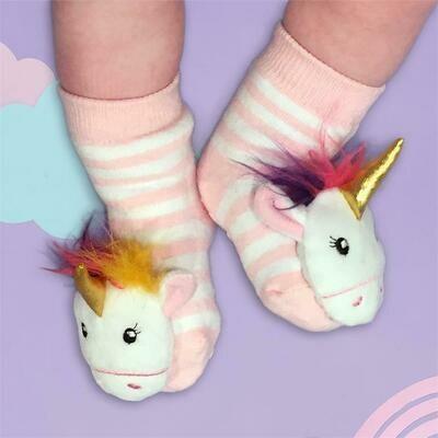Unicorn Rattle Socks