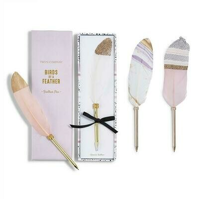 Feather Pen- Pink