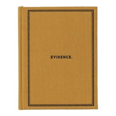 Notebook- Evidence