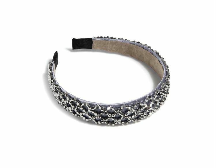 Embellished Headband- Crystal