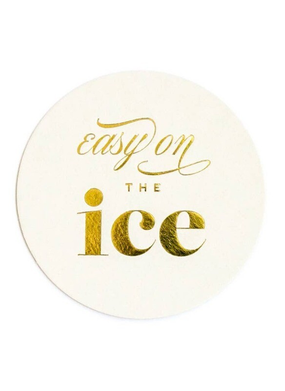 Easy on the Ice Coasters
