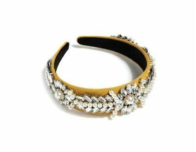 Embellished Headband- Rhinestone