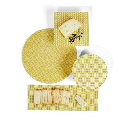 Rattan Weave Tray- Sm