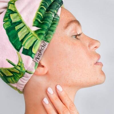 Microfiber Hair Towel- Palm