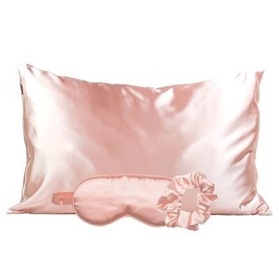 Satin Sleep Set- Blush