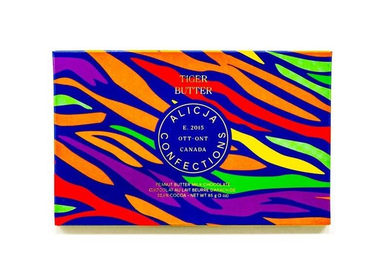 Alicja Candy Bar- Tiger Butter