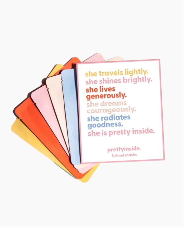 Pretty Inside Sheet Masks x5