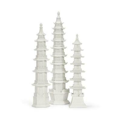 White Pagodas S/3