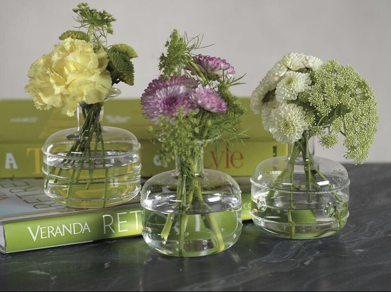 Unique Glass Bud Vase