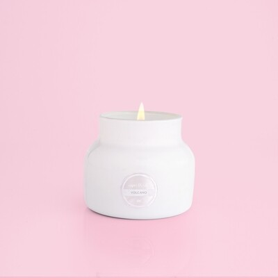Volcano Jar Candle- Sm Wh
