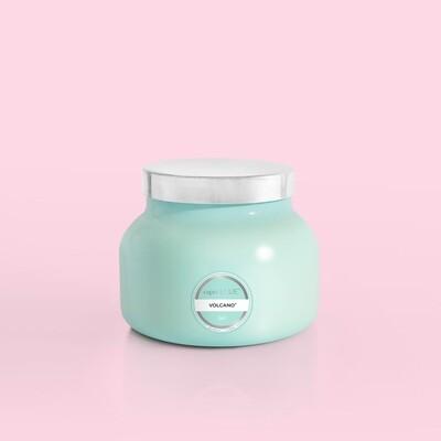 Volcano Jar Candle- Lg AQUA