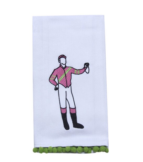 Derby Jockey Tea Towel