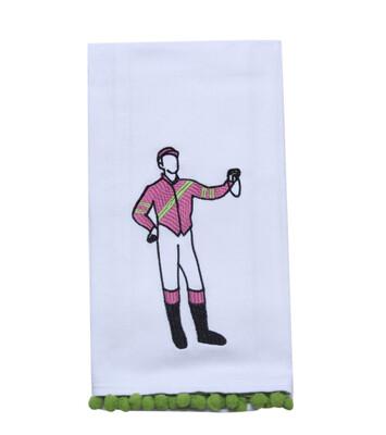 Derby Jockey Tea Towel