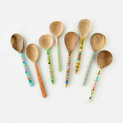 Handpainted Wood Spoon