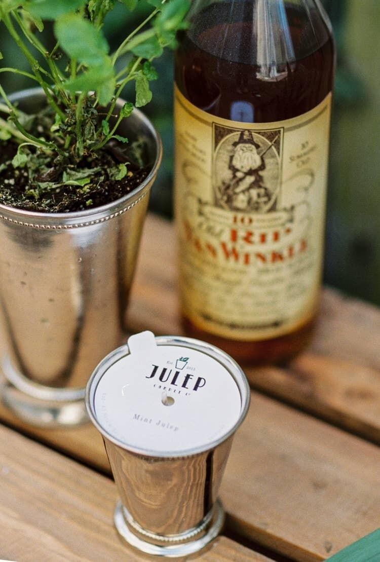 Mint Julep Candle- Sm