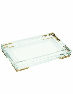 Lucite Tray/Caddy