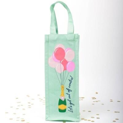 Balloons Wine Bag