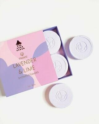 Lavender Lime Steams