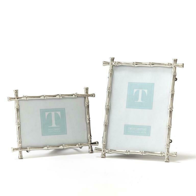 Silver Bamboo Frame 4x6