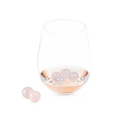 Rose Quartz Wine Gems