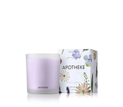 Hinoki Lavender Candle- Flowers