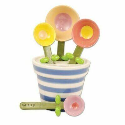 Flower Pot Measure Spoons