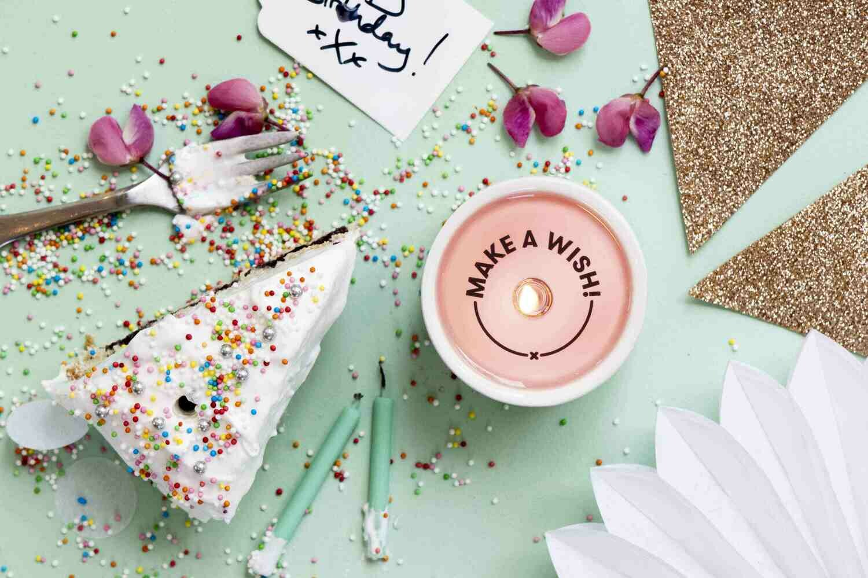 Secret Message Candle- Make a Wish