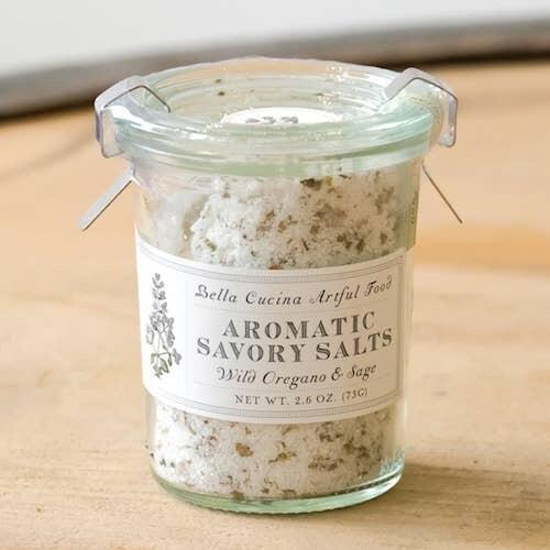 Wild Oregano Sage Salt